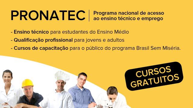 Pronatec PA 2018 Belém