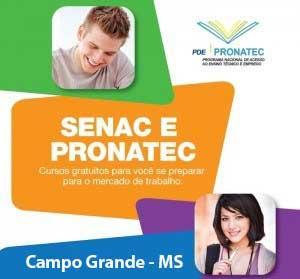 Pronatec Campo Grande MS 2016