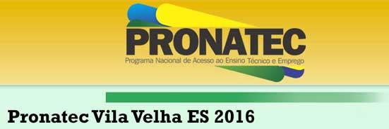 Pronatec Vila Velha ES 2017