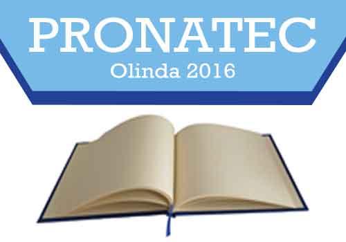 Pronatec Olinda Inscrições 2018