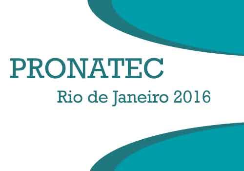 Pronatec RJ 2017