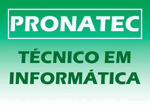 Técnico em Informática Pronatec