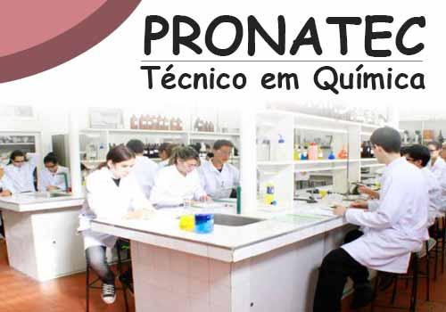 Técnico em Química Pronatec