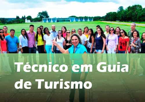 Técnico em Guia de Turismo Pronatec