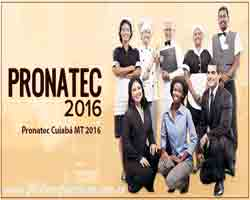 Pronatec Cuiaba MT 2016