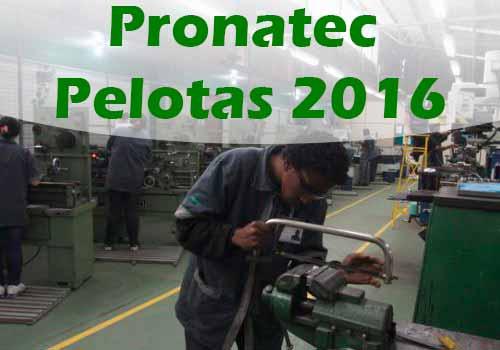 Pronatec Pelotas 2017