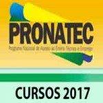 Cursos Pronatec 2017 BR