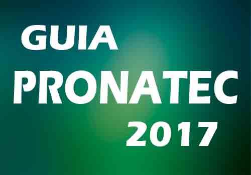 Guia Pronatec 2017