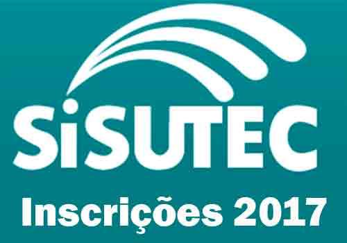 Inscrições Sisutec 2017