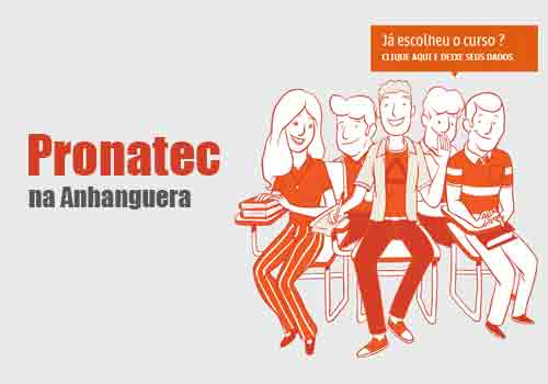 Pronatec Anhanguera Cursos 2018