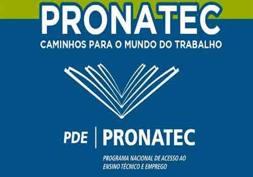 Pronatec Recife Cursos 2018