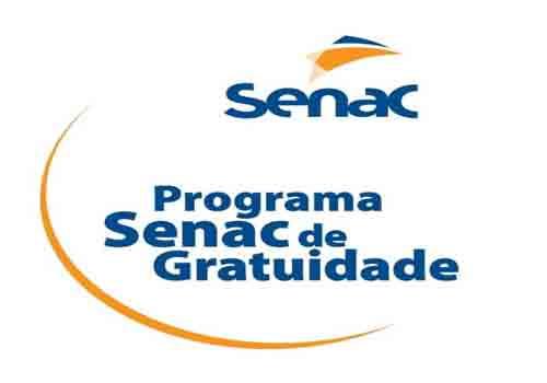 Inscrições SENAC 2017