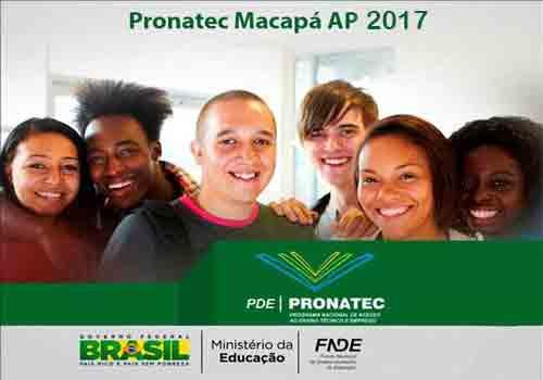 Pronatec AP 2017