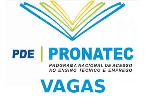 Vagas Pronatec