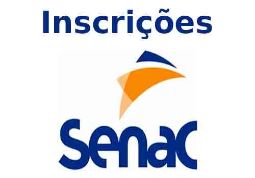 Inscrições Senac
