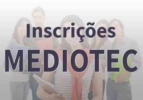 Inscrições Mediotec 2017