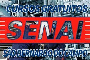Cursos Gratuitos SENAI São Bernardo do Campo