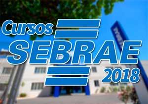 Cursos SEBRAE 2018