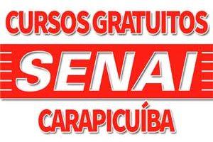 Cursos Gratuitos SENAI Carapicuíba