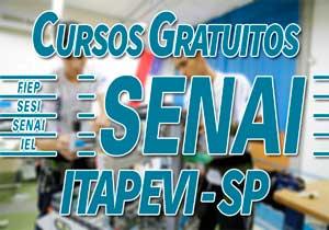 Cursos Gratuitos SENAI Itapevi | Inscrições SENAI 2019