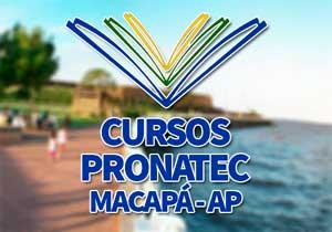 Cursos Pronatec Macapá 2018