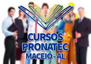 Cursos Pronatec Maceió 2018
