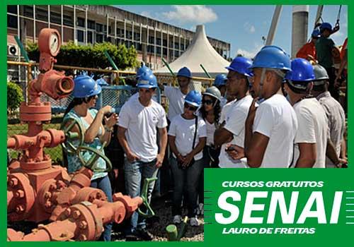 Cursos Gratuitos SENAI Lauro de Freitas