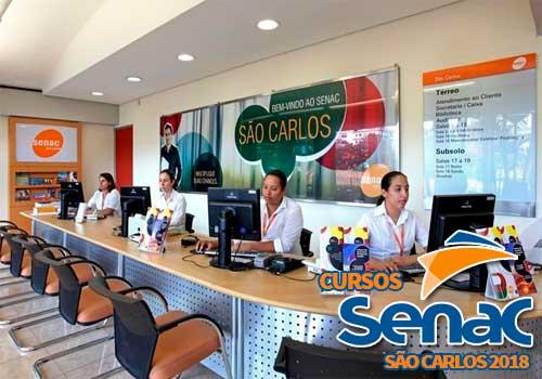 Cursos Gratuitos SENAC São Carlos 2018