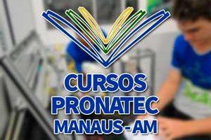 Cursos PRONATEC Manaus 2018