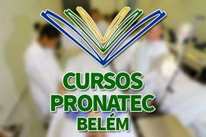Cursos PRONATEC Belém 2018