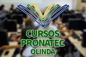 Cursos PRONATEC Olinda 2018