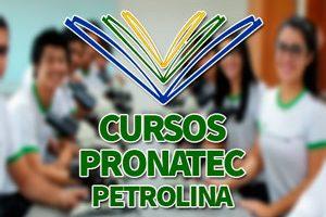 Cursos PRONATEC Petrolina 2018