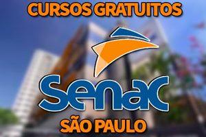 Cursos Gratuitos SENAC São Paulo 2018