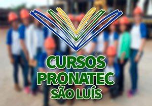 Cursos PRONATEC São Luís 2018