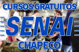 Cursos Gratuitos SENAI Chapecó 2018