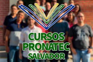 Cursos PRONATEC Salvador 2018