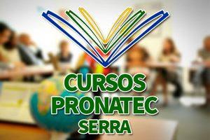 Cursos PRONATEC Serra 2018