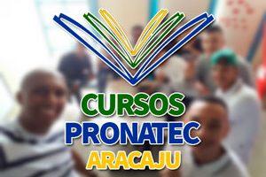 Cursos Pronatec Aracaju 2018