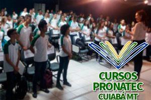 Cursos Pronatec Cuiabá MT 2018
