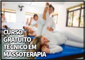 Curso Gratuito Técnico em Massoterapia