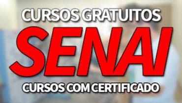 13 Cursos Gratuitos SENAI com Certificado