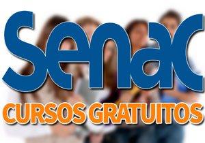 SENAC Cursos Gratuitos 2019 → Técnicos, EAD, com Certificado
