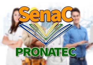 SENAC Pronatec 2020 → Cursos Técnicos Gratuitos 2020