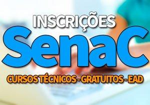 Inscrições SENAC 2020 | Cursos Técnicos, Gratuitos, EAD SENAC