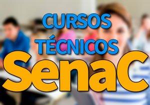 Cursos Técnicos SENAC 2020 → Edital, EAD Gratuitos SENAC 2020