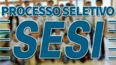 Processo Seletivo SESI 2019