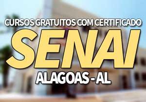 SENAI AL Cursos Gratuitos 2021 com Certificado → SENAI 2021