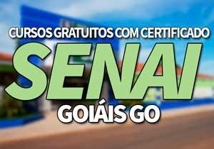 SENAICursos Gratuitos GO 2021 → EAD, Pós-Graduação SENAI GO
