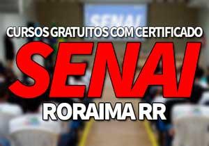 SENAICursos Gratuitos RR 2021 → Processo Seletivo, EAD SENAI RR