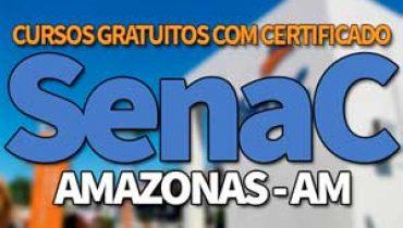 SENAC AM Cursos Gratuitos 2019